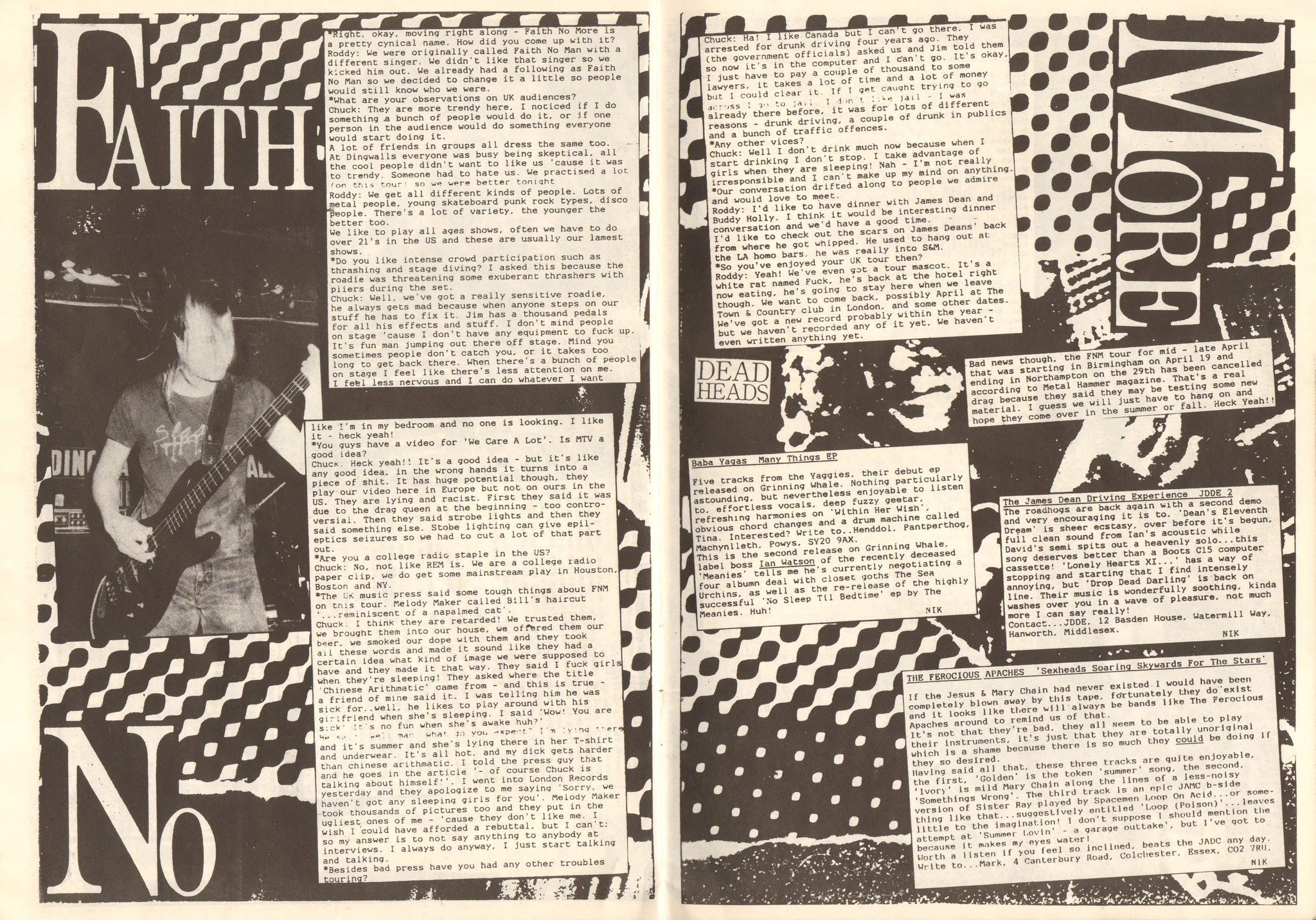 Faith no ore interview 1988 page 2