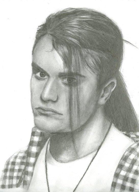 Mike Patton Being Grumpy by randomshitstuff